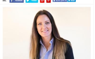 Ejer Nadja Fuglsang i interview med Fredericia Avisen